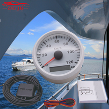 85mm IP67 Waterproof Boat GPS Speedometer 120kmh 200kmh Digital Odometer 12V 24V for Truck Boat Car Speedometer цена