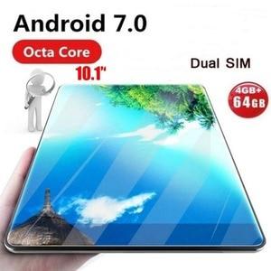 Globalny Tablet Android 7.0 OS 10-calowy tablet 4G FDD LTE Octa Core 4GB RAM 32GB ROM 1280*800 IPS 2.5D szklane tablety dla dzieci 10 10.1