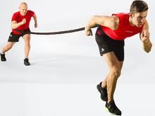 Crossfit bungee banda potência velocidade força treinamento treino bandas elásticas fitness