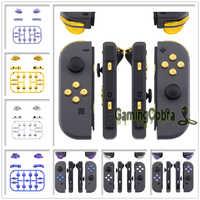 Reemplazo de teclas de dirección ABXY SR SL L R ZR ZL disparador completo conjunto de botones Con herramientas para Nintendo Switch Con
