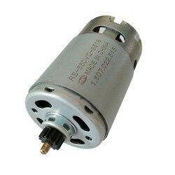 Taladro eléctrico DC Gear motor 13 dientes RS-550VC-8518 para BOSCH GSR10.8V-LI-2 (3601H68100) eléctrico de espaã a