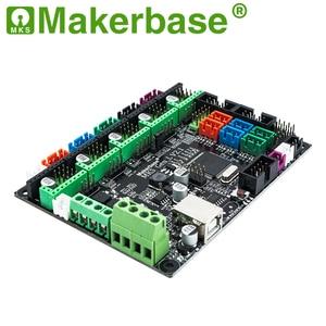 Image 3 - Makerbase 3D מדפסת לוח MKS Gen L בקר תואם עם Ramps1.4/Mega2560 R3 תמיכה A4988/TMC2208/2209TMC2100 נהגים