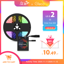 AmbiLight Kit usbli şerit LED ışık 5050 RGB rüya rengi ws2812b şerit TV masaüstü bilgisayar ekran arka aydınlatma 1M 2M 3M 4M 5M
