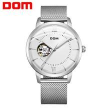 цена на Watch Men DOM Brand Automatic Mechanical Luxury Luminous Hands Waterproof Sport Causal Watch Men Clock Relogio Masculino M-8120