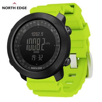 NORTH EDGE Altimeter Barometer Compass Men Digital Watches Sports Running Clock Climbing Hiking Wristwatches Waterproof 50M - DISCOUNT ITEM  30 OFF Watches