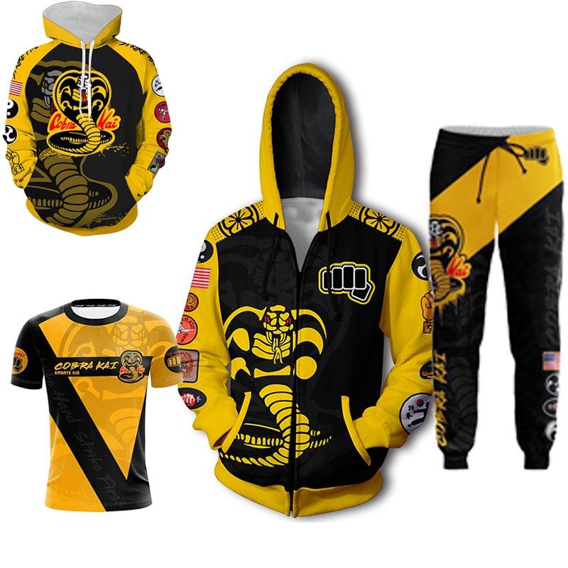 The Karate Kid  Jacket Hoodie 3D Print Animation Clothes Cosplay Coat Sweatshirt Hooded Costume Tops Tee Pants Cos