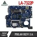 Akemy X53U PBL60 LA-7322P REV:1A материнская плата для ноутбука For Asus X53B K53B X53 K53 тестовая оригинальная материнская плата