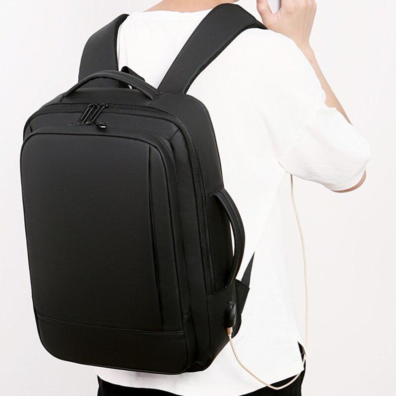 Mark Ryden, мужской многофункциональный рюкзак, usb зарядка, 17 дюймов, сумка для ноутбука, большая емкость, водонепроницаемые дорожные сумки для м... - 2