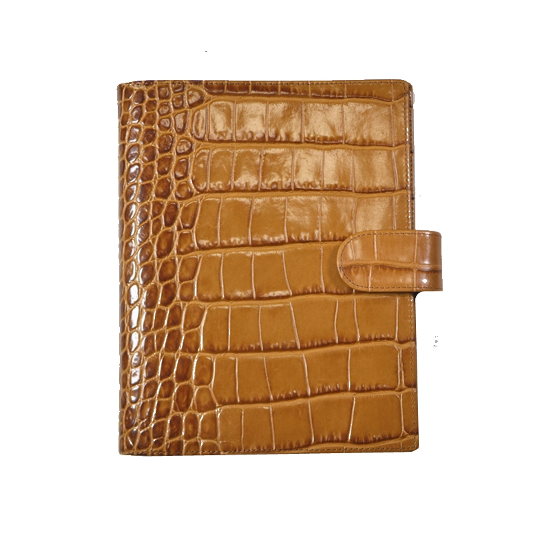 Crocodile pattern Notebook Diary Notepad Vintage Cowhide Leather Note Book Replaceable Business notebook Gift Traveler Journal