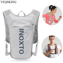Running Hydration Vest Backpack,Men Outdoor Waterproof Riding Bike Rucksack,Women Trail Marathon Jogging Hiking Backpack Run Bag