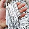 100/200/300PCS Mask DIY Nose Wire Nose Clip Bridge Metal Flat Aluminum Bar Strip Trimming Crafts Making Accessories