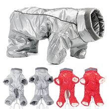 Jumpsuit Outfit Clothing Pet-Puppy-Coat Snow-Overalls Down-Jacket Waterproof Winter Girl