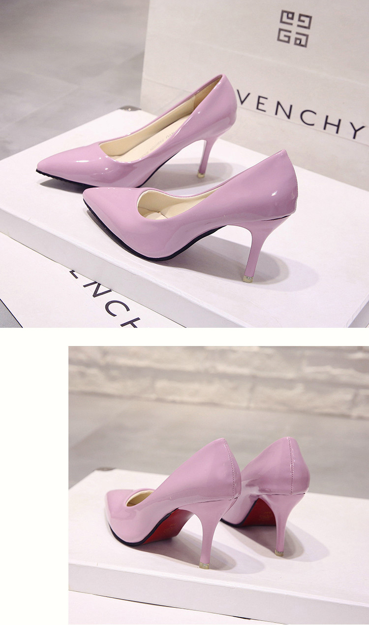 Sensuais de Salto Alto Sapatos Único Concisa Bombas Das Mulheres