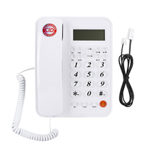 Wired Telephone Fixed-Landline Home-Phone Caller-Id Office Business