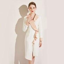 Bwb1998 осенний Новый продукт модное платье с длинными рукавами