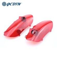 QCDIN SONATA LED araba karşılama ışık kapı logosu projektör ışık için SANATA YF 2010-2014