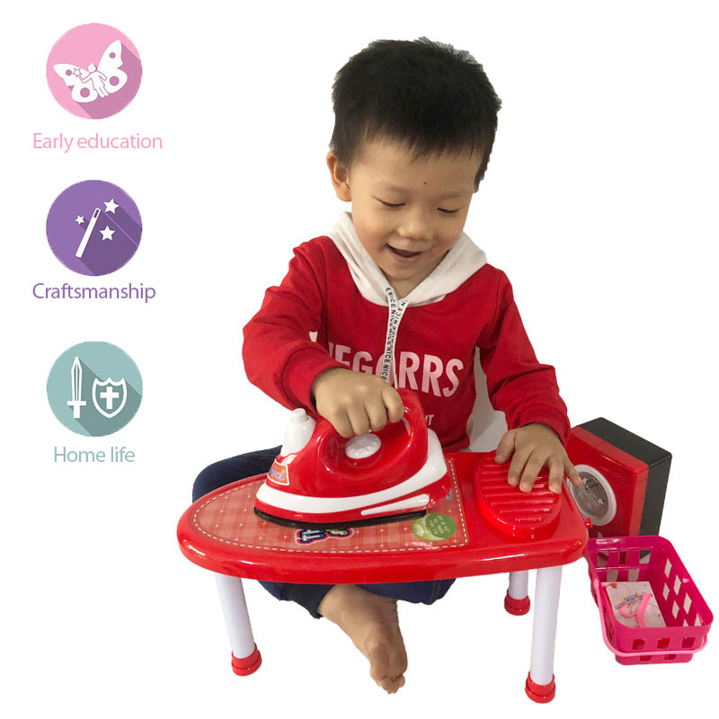 Simulation of small appliances toy Children play toys washing machine electric iron toys simulation of electric iron toys