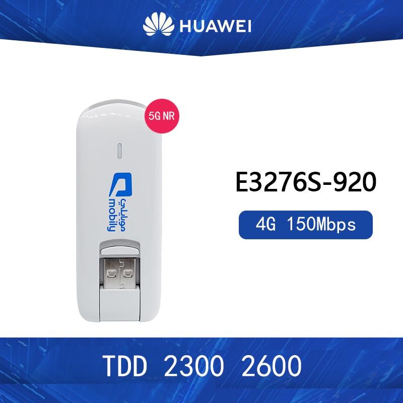 Разблокированный модем Huawei E3276s 4G LTE, 150 Мбит/с, WCDMA TDD 2300/2600 МГц, беспроводной USB-ключ
