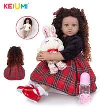 Кукла реборн keiumi Реалистичная кукла 60 см lindo для новорожденных