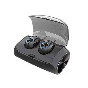 Bluetooth наушники беспроводные наушники TWS 9D стерео гарнитура спортивные водонепроницаемые наушники 2600 мАч зарядная коробка с микрофоном