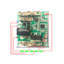 BMS 5S 18V 21V 20A 18650 Lithium Pack Li-Ion Battery Charging Protection Board Circuit BMS Module For Power Tools Hand Drill