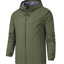 Outdoor waterproof and windproof men's thin section spring and autumn coat
