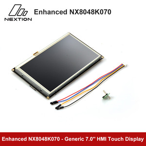Image 5 - Nextion Enhanced NX8048K070   7.0 HMI Touch Display USART TFT LCD Module Resistive Touch TTL/5V Display
