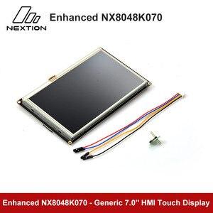 Image 5 - Nextion強化NX8048K070 7.0 hmiタッチディスプレイusart tft液晶モジュール抵抗タッチttl/5表示