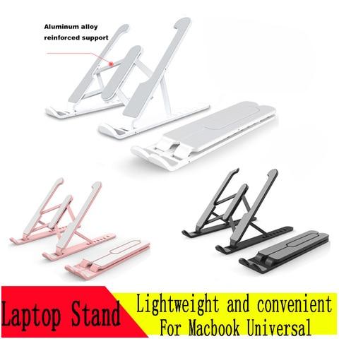 suporte portatil de ajuste de altura suporte portatil dobravel para macbook air 13 pro 13
