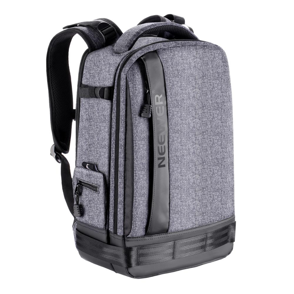 Neewer Camera Backpack Bag Detachable Padded Camera Case for DSLRs, Mirrorless Cameras, Lenses, Tripods, 13 inches Laptop image
