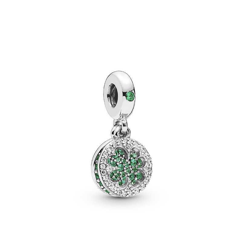 Darmowa wysyłka tulipan rodziny drzewo życia Charms wisiorek Fit Pandora bransoletki i naszyjnik kobiety do samodzielnego robienia biżuterii