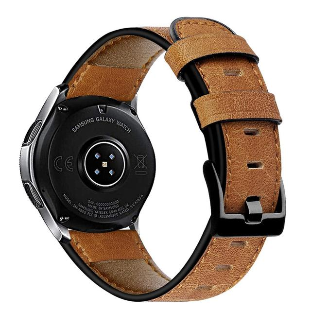 22mm watch strap For Huawei watch gt 2/2e strap samsung Galaxy watch 3 45/46mm leather correa Amazfit PACE GTR /Gear S3 frontier 2