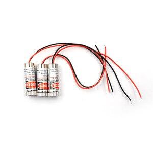 650 нм 5 МВт красная точка/линия/Крест лазерный модуль головка стеклянный объектив Фокусируемый промышленный класс