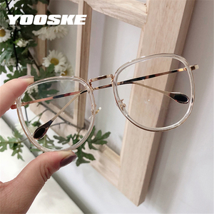 YOOSKE Transparent Eyeglasses