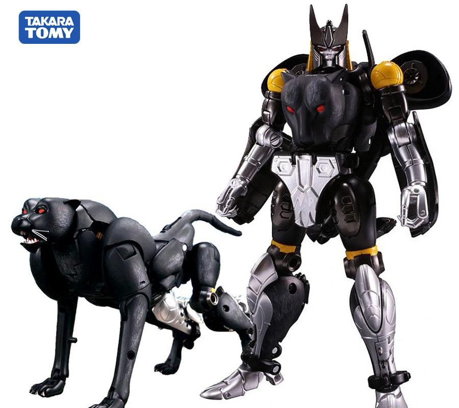 TAKARA TOMY Transformation Master Piece Action Figure Toy MP-34S Black Panther Commander Beast Wars Shadow Leopard Deformation