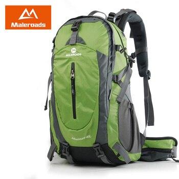 Maleroads Climbing Backpack Big Capacity 40L/50L Hiking Backpack Waterproof Bag Men and Women Fashion Mountain Backpack MLS9018