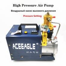 Электрический воздушный компрессор 220 В кВт 30 мпа насос высокого