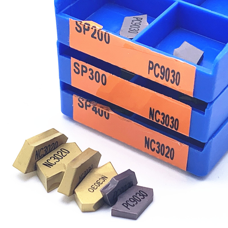 10P SP300 NC3020 GIT-3 3mm cutting blade Carbide Insert Grooving Cut-Off