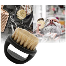 Men Beard Shaving Brush Wild Boar Fur Soft Barber Salon Facial Cleaning Shave Tools Razor Brush with Handle Styling Accessory men shaving brush luxury badger bristles shaving razor brush barber salon facial beard comb cleaning appliance tool metal base
