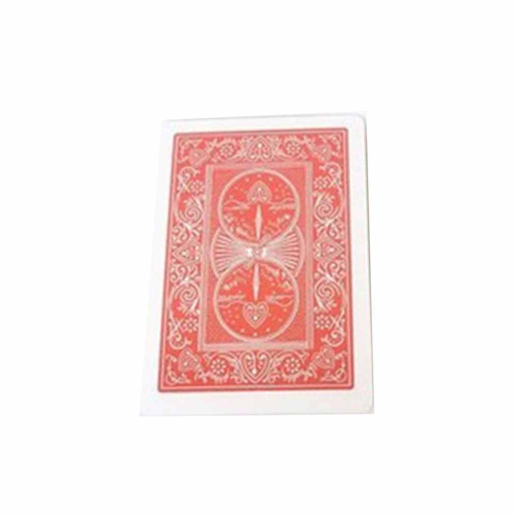 Magic Tricks Floating Poker Cards Magic Props Close Up Street Party Show Stage Bend Tricky Magic Trick Toy