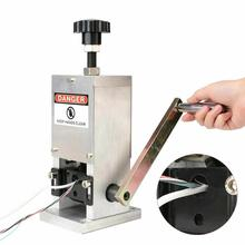 Manual-Wire-Stripping-Machine with Hand-Crank Portable Aluminum Construction