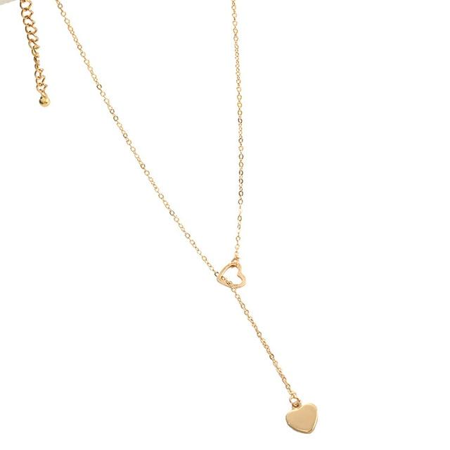 Beautiful dangle heart necklace 4