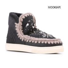 China's latest high-quality brand women's snow boots, real sheepskin, 100% natural wool, fashionable women shoes(China)