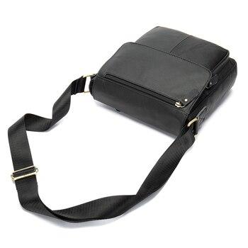 Factory direct sale European American fold Leather Men's single shoulder bag men's messenger bag head layer cowhide leisure f