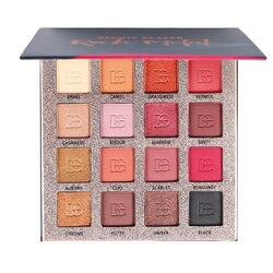 Beauty Glazed-paleta de sombra de ojos bonita, paleta de 16 colores, mate, brillante, pigmentado, sombra de ojos en polvo, cosméticos