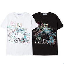 2021 New Fashion Applique Luxury Letter Pattern Summer Ladies T-Shirt Women'S Casual Art Brand Top Commuter Tide T79