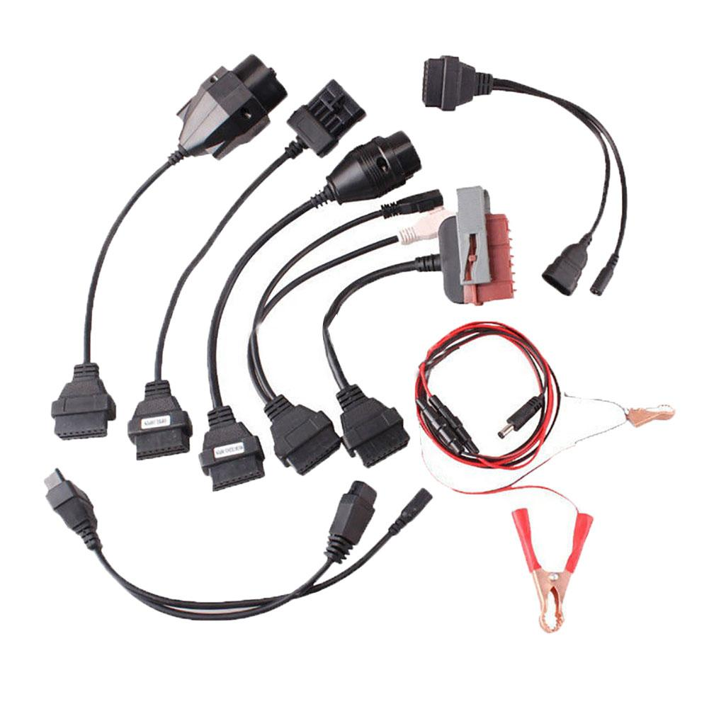 8Pcs <font><b>Adapter</b></font> <font><b>OBD2</b></font> Cables <font><b>Set</b></font> for AUTO-COM C-DP Pro Car Diagnostic Tool Scanner image
