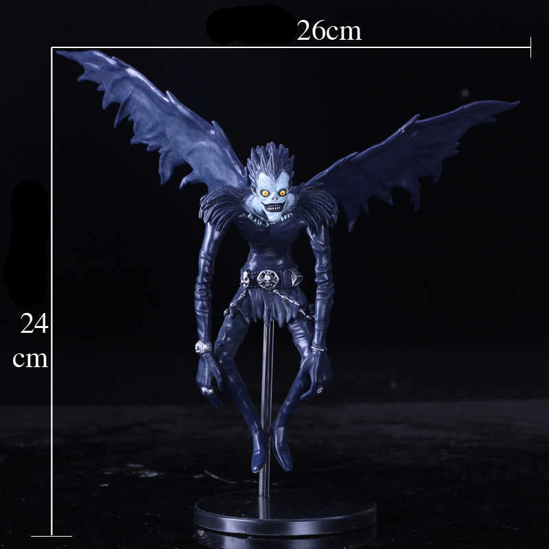 2018 New Death Note L Ryuk Ryuuku PVC Anime Action Figure Model Collection Toy Dolls 24CM