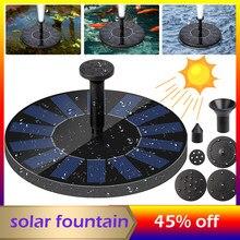 Fonte de água solar decorativa flutuante fonte solar piscina lagoa fonte adulto flutua bomba de água jardim fonte decoração