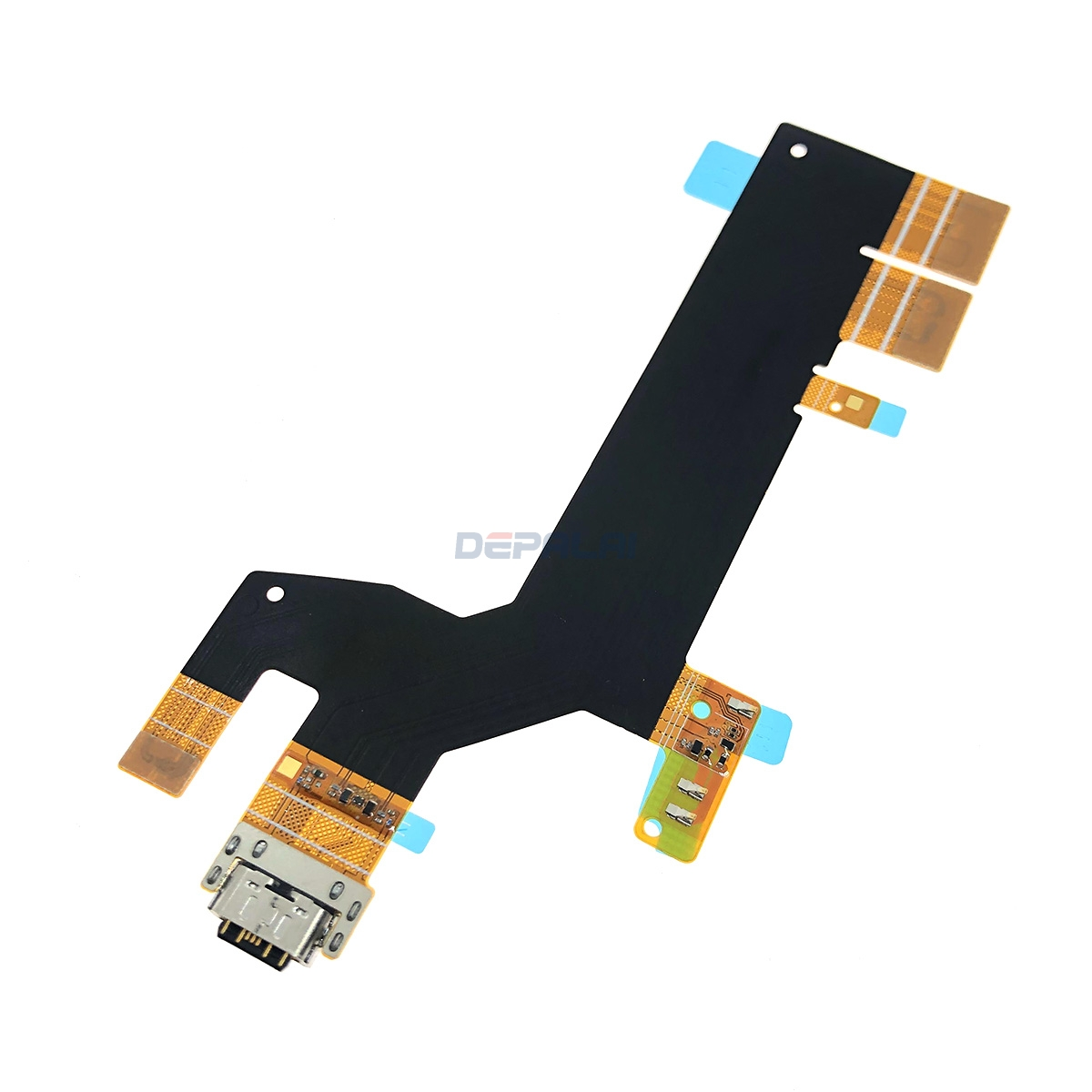 USB Port Charger Dock Plug Connector Flex Cable For Sony Xperia 10 Plus Dual I3213 X10plus Charging Port Board+Microphone Module